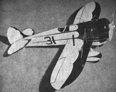 Mystery Racer model airplane plan