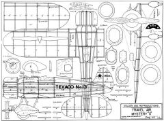 Mystery Ship model airplane plan