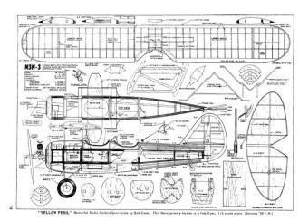 N3N-3 model airplane plan