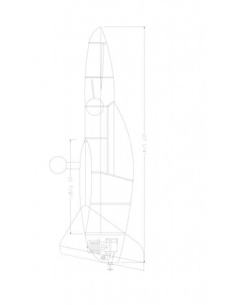 NOTEZ1 Model 1 model airplane plan