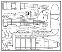 Nakajima 96 model airplane plan