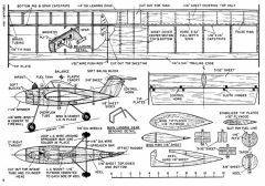 Nancy model airplane plan