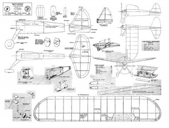 Natsneez model airplane plan