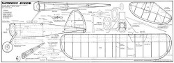 Natsneez Junior model airplane plan