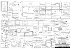 Navajo model airplane plan
