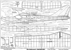 Don McGovern Navigator model airplane plan