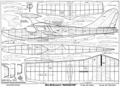 Don McGovern Navigator model airplane plan