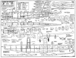Neptune P2V-7 model airplane plan