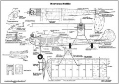 Nervous Nellie model airplane plan