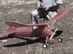 New Ruler model airplane plan