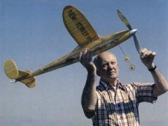 New Yorker IV model airplane plan