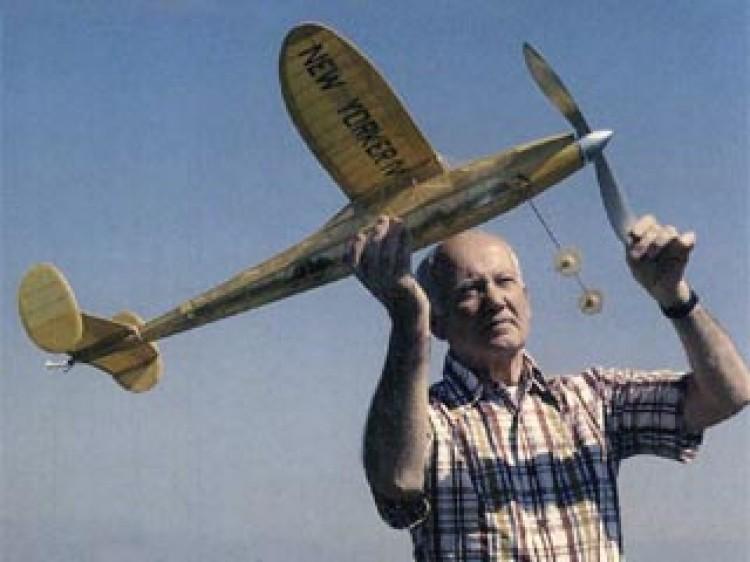 New Yorker IV model airplane plan
