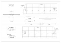 Newell Falcon model airplane plan