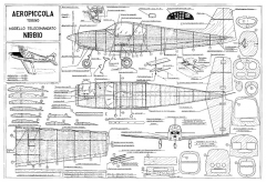 Nibbio model airplane plan
