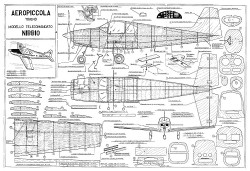 Nibbio model airplane plan