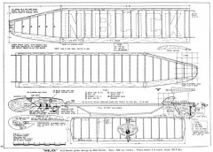 Niblick model airplane plan