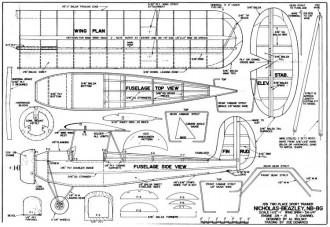 Nicholas-Beazley NB-8G model airplane plan