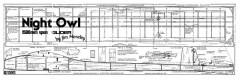 NightOwl model airplane plan