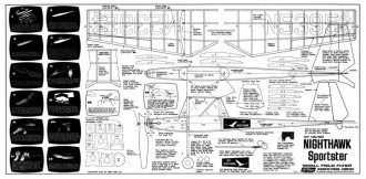 Nighthawk TernAero model airplane plan