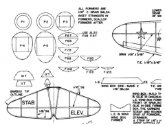 Nikitin-Schevenchenko IS-4 model airplane plan