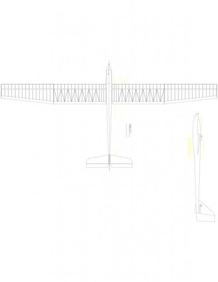 Nikolov Model 1 model airplane plan