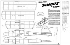 Nimbus 30in model airplane plan