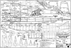 Nipper model airplane plan