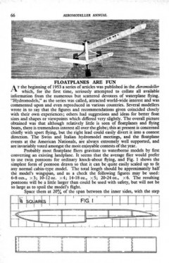 Nirvana model airplane plan