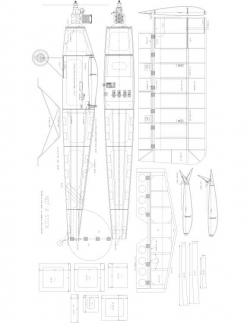 No Name Model 1 model airplane plan