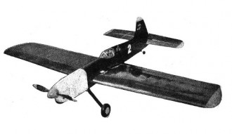 Nobler model airplane plan