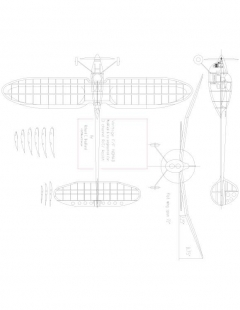 Nomad 2 Model 1 model airplane plan