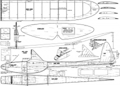 Nomad Ted Strader 48in model airplane plan