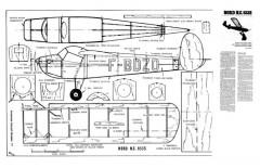 Nord NC 853S model airplane plan