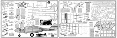 Northrop P-61 Black Widow model airplane plan