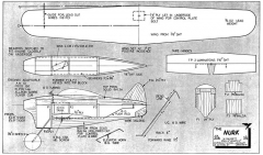 Nurk model airplane plan