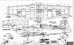 OD acr1 model airplane plan