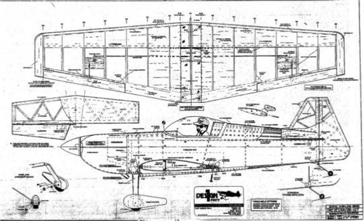 OD acr1 model airplane plan