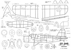 OS2U-1 Kingfisher model airplane plan