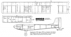 Obogo model airplane plan