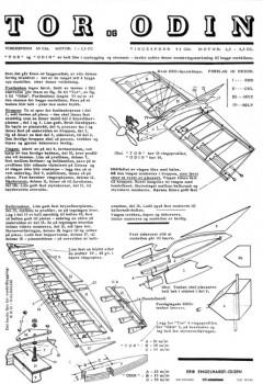 Odin model airplane plan