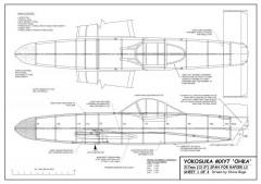 Yokosuka MXY7 Ohka model airplane plan