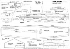 Ohm Special Goodyear model airplane plan