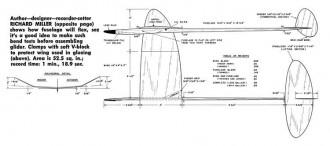 Omega-American Modeler 09-62 model airplane plan