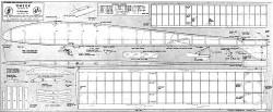 Omega model airplane plan