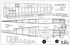 Omen model airplane plan