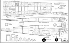 Omen II RCM-12-68 380 model airplane plan