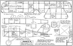 Orenco D-FAC model airplane plan