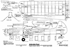 Oriental model airplane plan