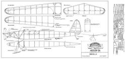 Oriole Jr model airplane plan