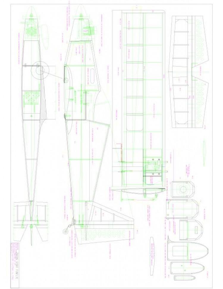 Orion25 Model 1 model airplane plan